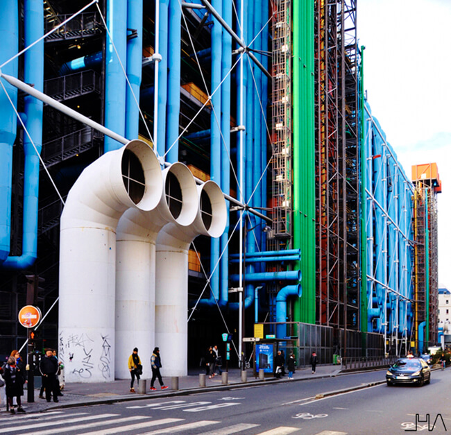 Museo Pompidou.Centre Pompidou Controversy In The Heart Of Paris Architectural