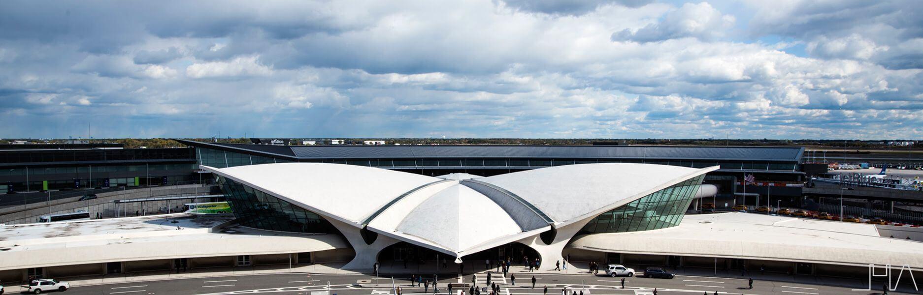 TWA FLIGHT CENTER  A majestic bird of concrete in New York