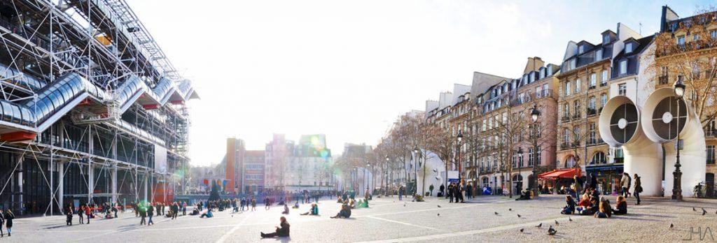 pompidou-rogers-piano-panorama