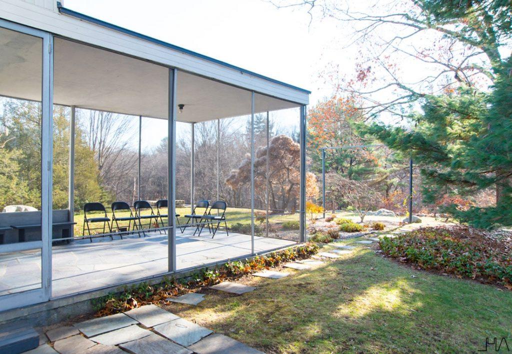 Gropius House garden